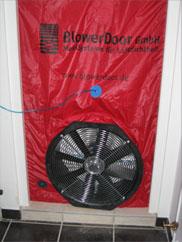 Porte Blower et déperditions énergétiques.
