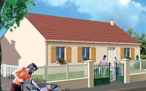 Mod le et plans primmos 88 s du constructeur maisons orca for Les maisons orca