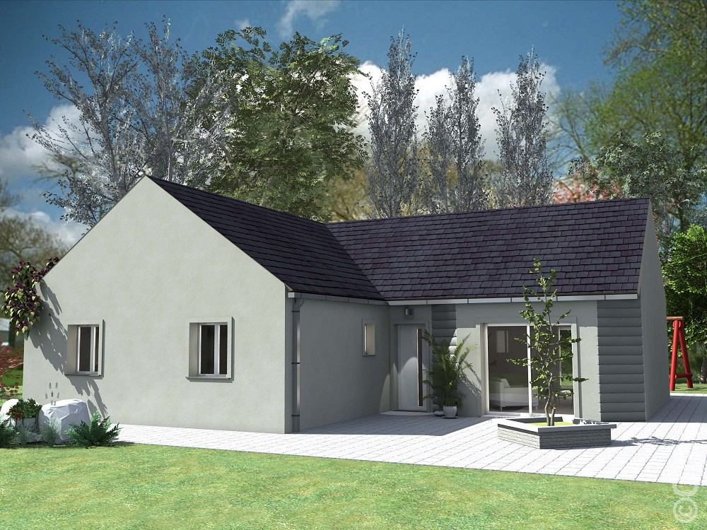 Affordable modle de maison with achat terrain maison neuf for Achat de maison neuve